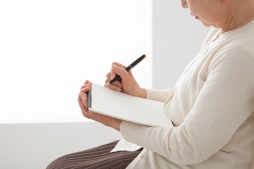 思ったことを書けるところから書いていけばいい