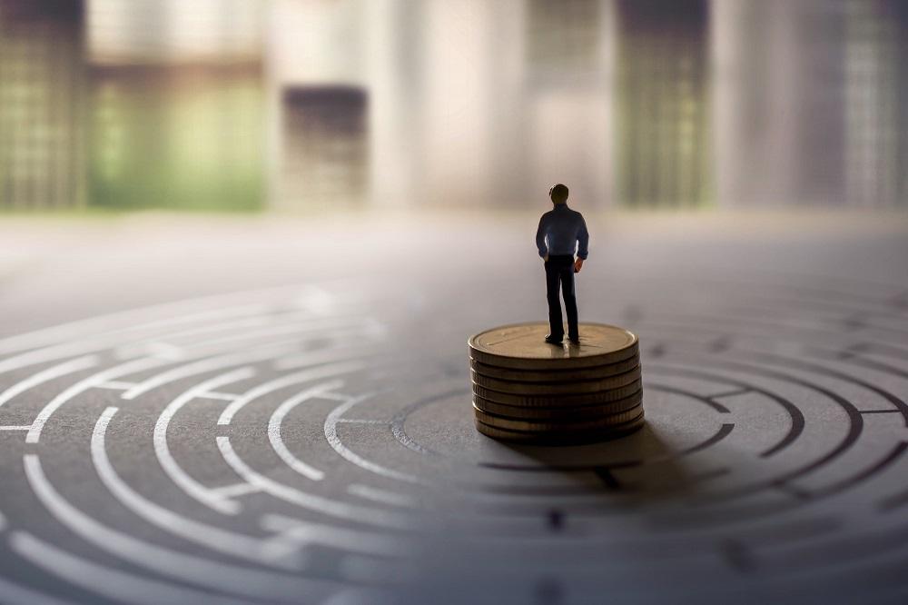 出口の見えない金融不安
