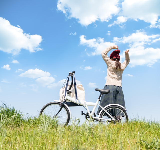 自転車で出かけよう