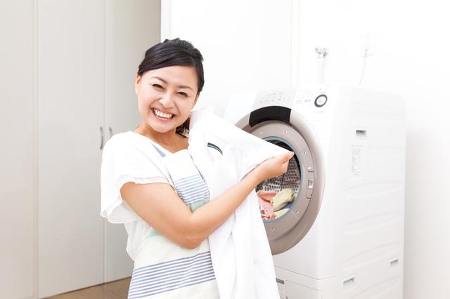 重層で洗濯物も綺麗に